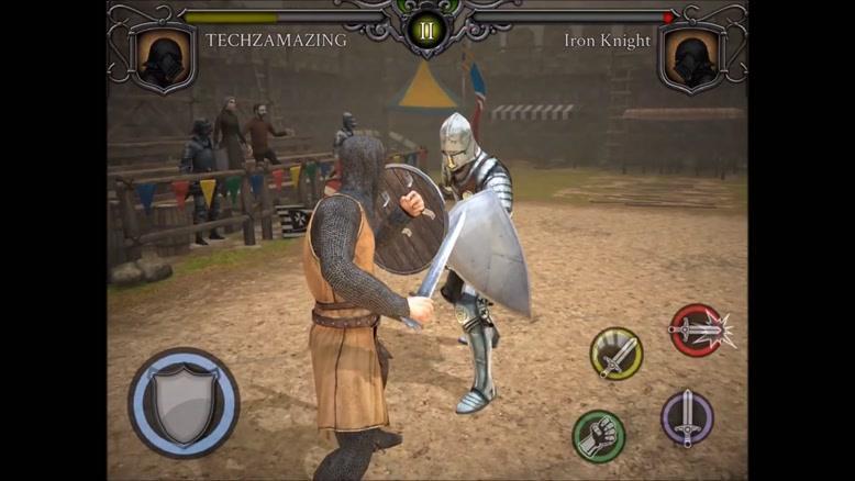 تریلر بازی موبایل Knights Fight: Medieval Arena