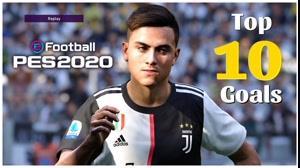 10 گل برتر بازی PES 2020 در کنسول PS4
