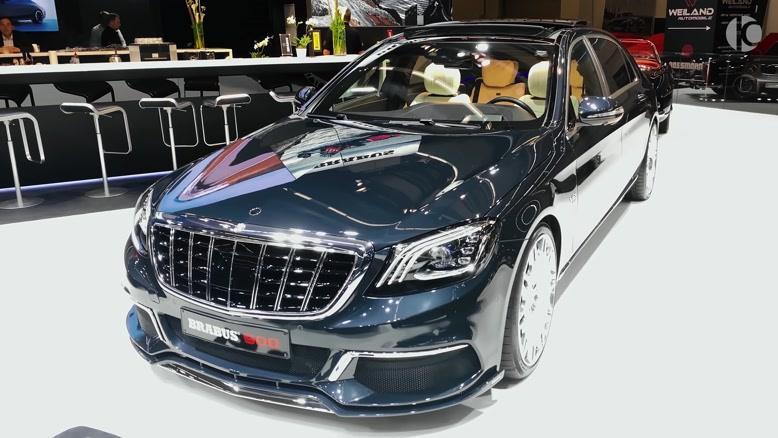 معرفی خودرو  Mercedes-Maybach S 650 L 2020