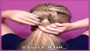 آموزش چند مدل بستن مو روزانه