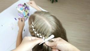 آموزش بافت موهای کودکان قسمت 42