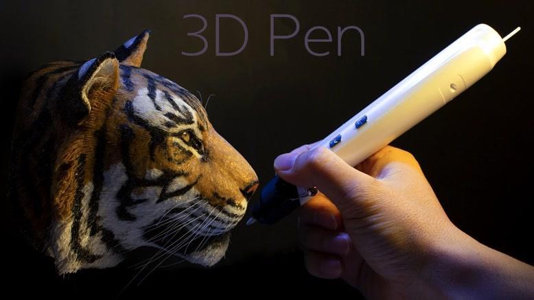 ساخت ماکت ببر با قلم سه بعدی