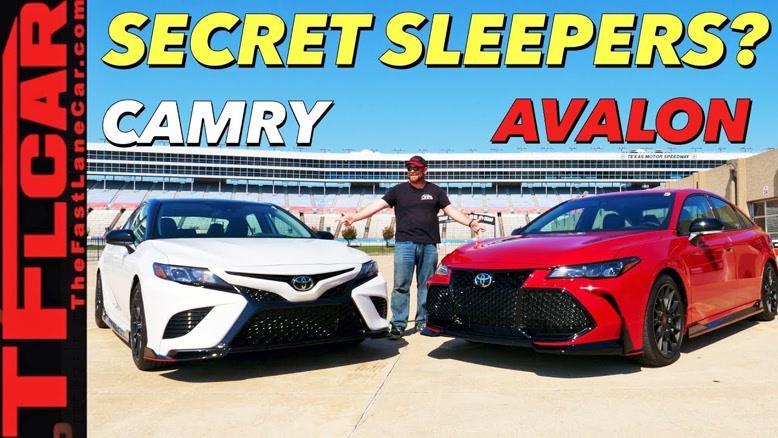 مقایسه خودروهای Toyota Camry TRD و Avalon TRD