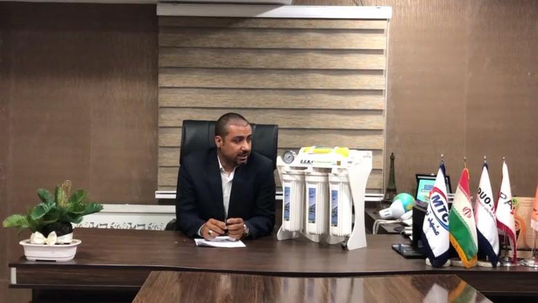 فروش تصفیه آب سافت واتر در شیراز - زمان تعویض فیلتر  چهارم دستگاه تصفی