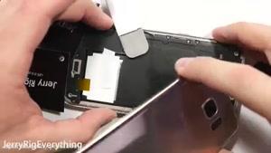 آموزش باز و بسته کردن تعویض تاچ و LCD گالکسی S۷ Edge