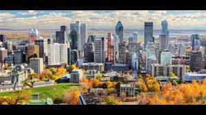 کلیپی حیرت انگیز از مناظر چشم گیر مونترال کانادا