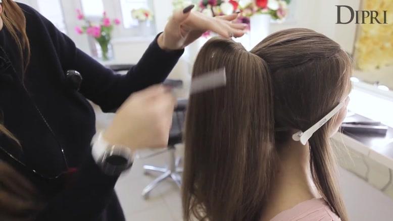 مدل موی فوق العاده شیک مخصوص موهای بلند