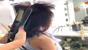 آموزش مدل موی زیبا برای موهای نسبتا کوتاه