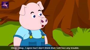 قصه های کودکانه  سه بچه خوک