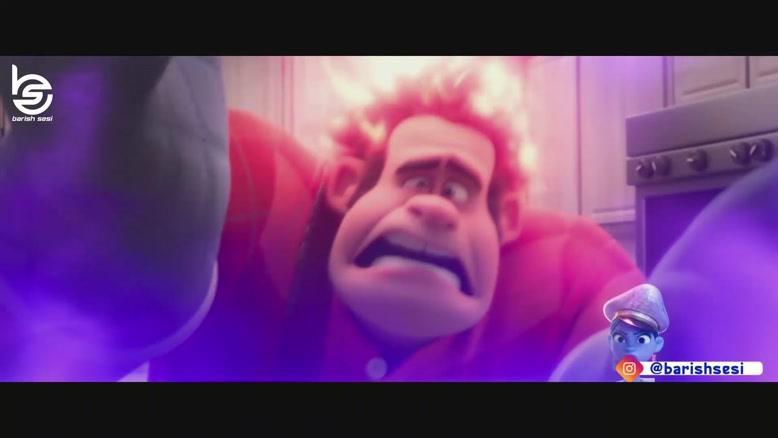 ایفای نقش صبا اولاد غفاری در انیمیشن دوبله ترکی رالف خرابکار2
