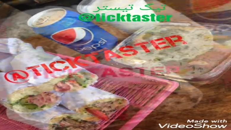 ساندویچ مقدم-منوی ساندویچ مقدم-تیک تیستر