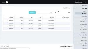 پنل مدیریت تاکسی آنلاین