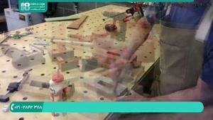 آموزش کامل ساخت میز چوبی با رزین _ ۰ تا ۱۰۰