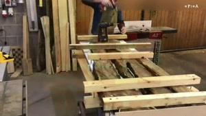آموزش مرحله به مرحله ساخت میز با رزین بصورت کامل