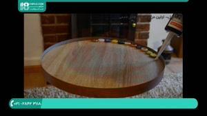 ساخت میز رزینی با سر نوشابه