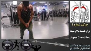 پنج تمرین کارساز عضله سینه