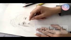 آموزش نقاشی جذاب چهره کودک