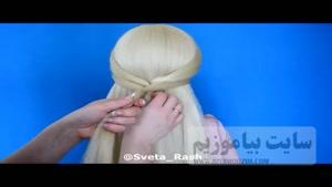 آموزش بافت مو زنانه