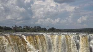 تصاویر هوایی از آبشار ویکتوریا