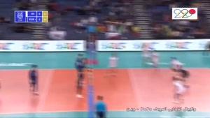 خلاصه بازی والیبال ایران - کره جنوبی