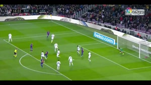 خلاصه بازی بارسلونا - گرانادا