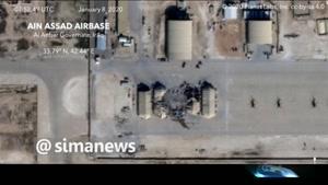 آخرين اطلاعات از ميزان صدمات حمله موشکي سپاه به پايگاه عين الاسد