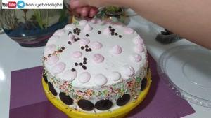 ساده ترین روش تزیین کیک در خانه