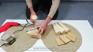 چگونه با لاستیک ماشین صندلی بسازیم