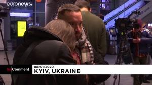 ادای احترام به تیم پروازی هواپیمای اوکراینی
