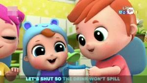 انیمیشن آموزش زبان انگلیسی Little Angel قسمت 157