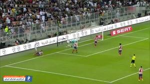 خلاصه بازی رئال مادرید - اتلتیکو