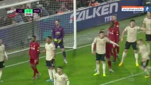 خلاصه بازی لیورپول 2-0 منچستریونایتد