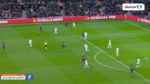 خلاصه بازی بارسلونا 1 -0 گرانادا