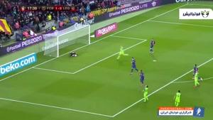 خلاصه بازی بارسلونا 5 - لگانس 0