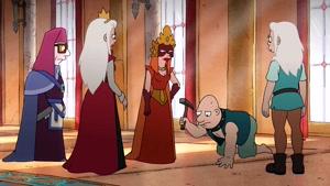 دانلود انیمیشن سریالی طلسم شدگان فصل 2 با دوبله فارسی
