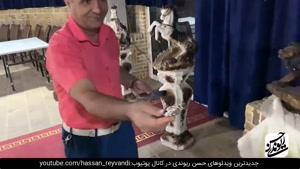 کلیپ طنز حسن ریوندی دست های جادویی