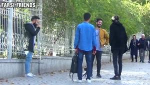 کلیپ دوربین مخفی خنده دار رقصیدن تو خیابون