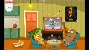 مجموعه انیمیشن طنز تی وی مز این قسمت زرافه ها