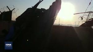 حادثه دلخراش سقوط هواپیمای اوکراینی