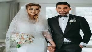 میلاد محمدی بازیکن تیم ملی فوتبال ازدواج کرد