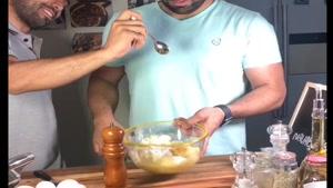 آشپزی نواب ابراهیمی طرز تهیه کوکو سیب زمینی