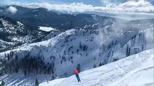یکی از زیباترین کلیپ های اسکی روی برف