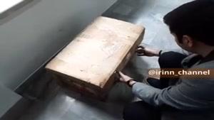 فیلم لحظه باز شدن جعبه سیاه هواپیمای اوکراینی
