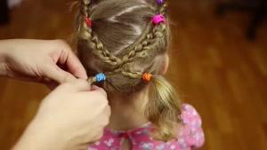 آموزش چند مدل مو زیبا و شیک برای دختر بچه ها