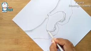 آموزش طراحی علامت قلب با دست با مداد