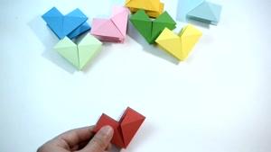 آموزش اوریگامی ساخت اشکال 3 بعدی
