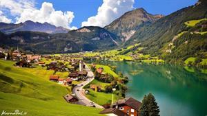 طبیعت فوق العاده زیبای سوئیس