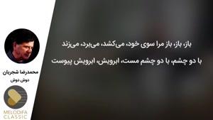 محمدرضا شجریان دوش دوش