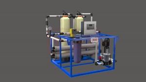 آب تصفیه عملکرد دستگاه صنعتی