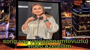 ویدیو موزیک دیگری از خواننده آذربایجان شبنم تووزلو